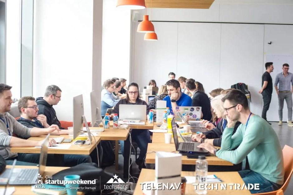 Cum a fost la Startup Weekend Cluj   Zeci de tineri au avut la dispoziţie doar 54 de ore pentru a crea afaceri de la zero