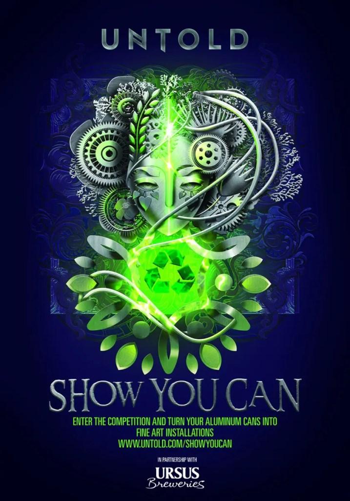 """UNTOLD lansează competiţia internaţională """"SHOW YOU CAN"""""""