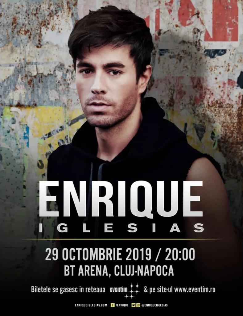Concert Enrique Iglesias la Cluj