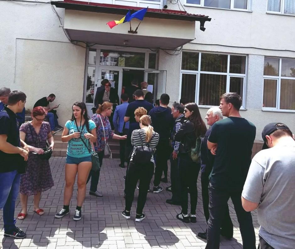 Judeţul Cluj - locul doi pe ţară - la numărul oamenilor care au fost deja să voteze