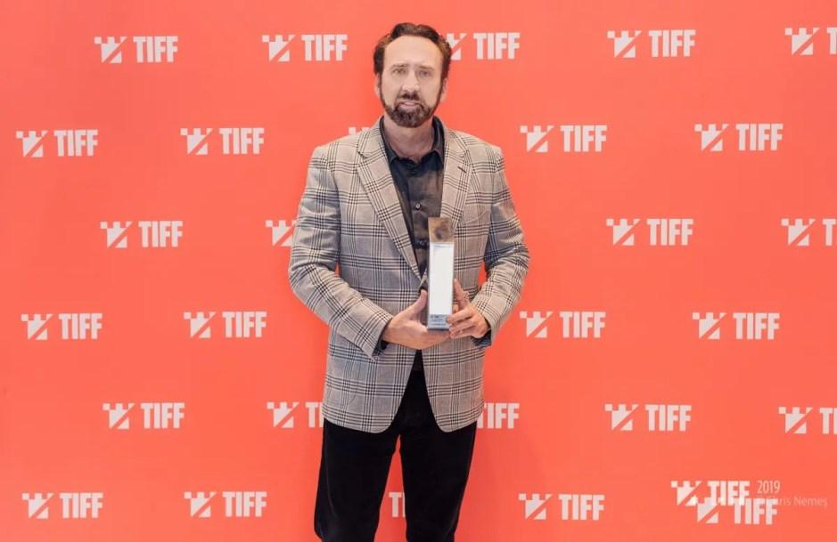 Nicolas Cage distins la Cluj cu Trofeul Transilvania la TIFF 2019