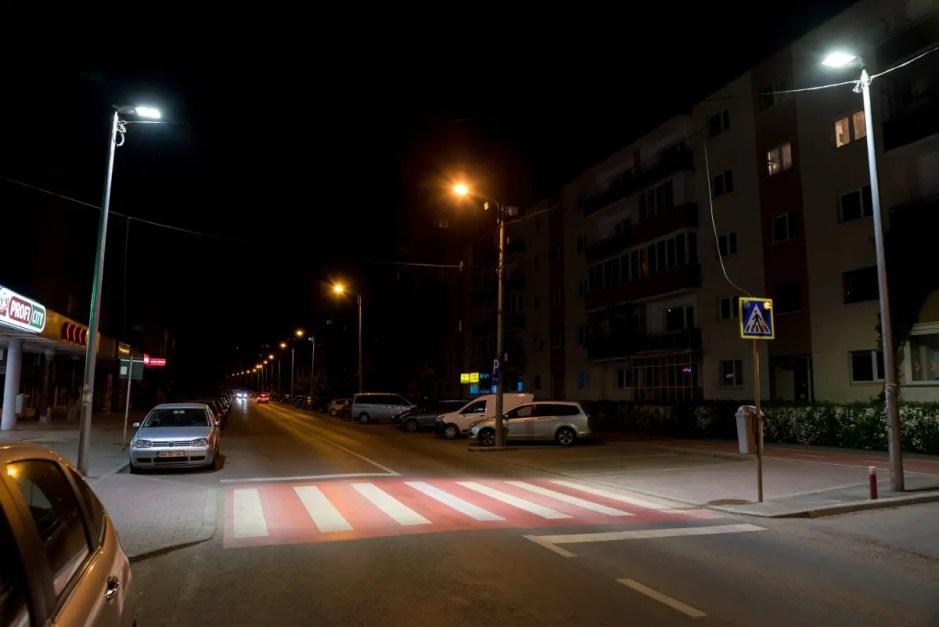 Au început lucrările pentru supra-iluminarea a 40 de treceri de pietoni din Cluj-Napoca