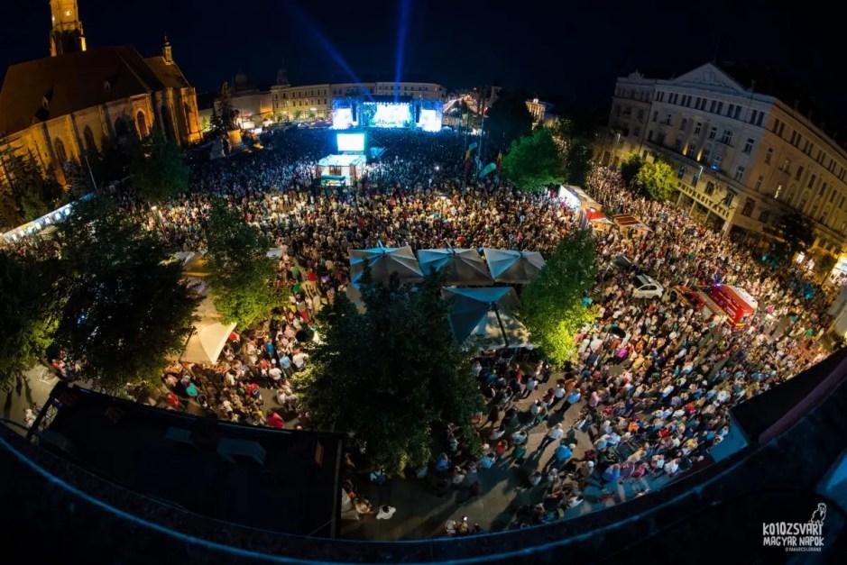 300.000 de oameni au participat la Zilele Culturale Maghiare din Cluj în cele zece zile de festival