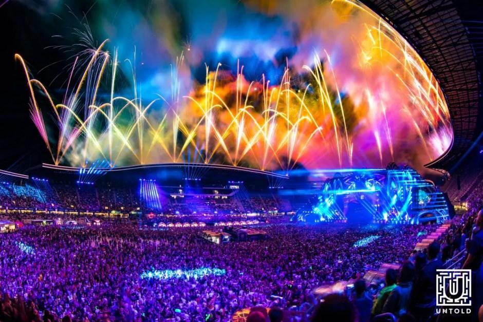 Peste 90.000 de oameni în prima zi de UNTOLD! Artiştii au fost impresionaţi de numărul mare de participanţi