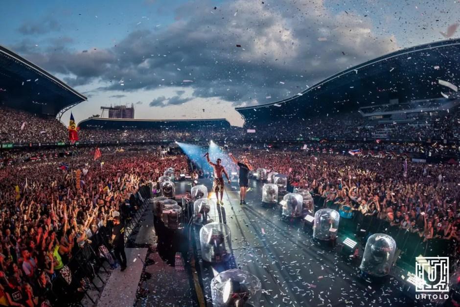 Număr record de participanţi la UNTOLD: peste 372.000 de oameni în cele patru zile de festival