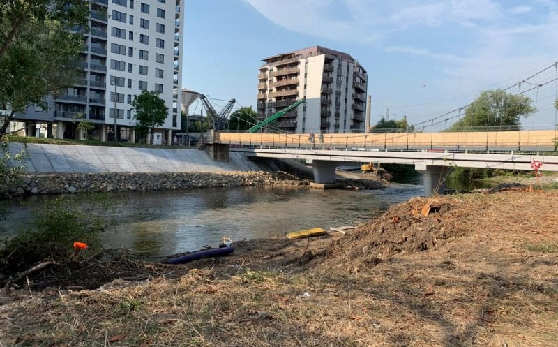 S-a redeschis circulația pe podul Porțelanului din Cluj-Napoca