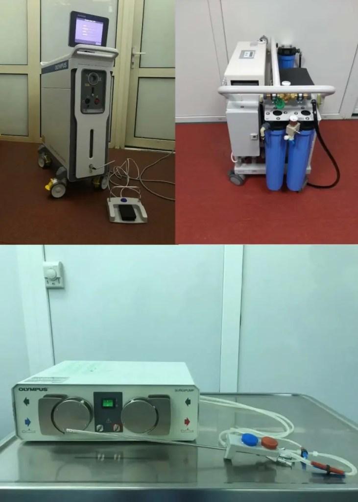 Institutul de Urologie din Cluj a fost dotat cu trei noi echipamente medicale