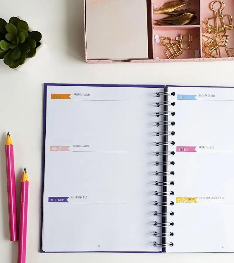 4 motive pentru a utiliza agende personalizate