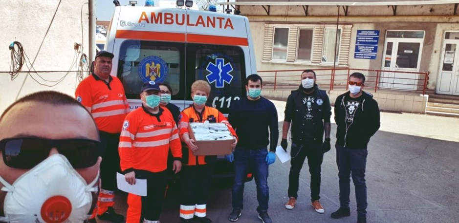 Trei organizaţii au donat împreună peste 180.000 de echipamente de strictă necesitate în județul Cluj