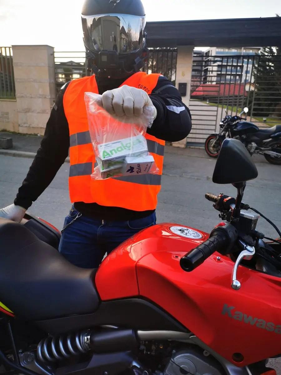 motociclisti coronavirus cluj