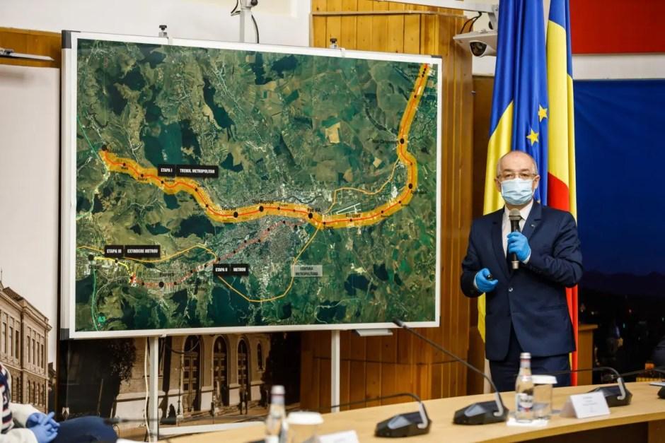 Undă verde pentru metroul şi trenul metropolitan din Cluj! Au fost semante contractele de prefezabilitate și fezabilitate