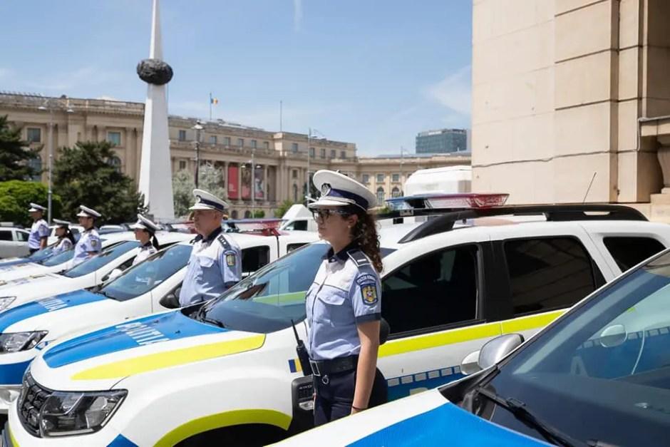 masini noi pentru politisti