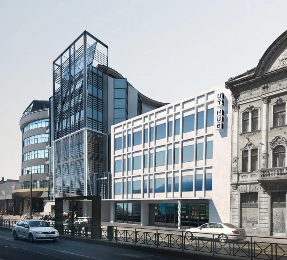 Universitatea Tehnică Cluj a început lucrările la Casa de Modă şi la fostul sediu BT