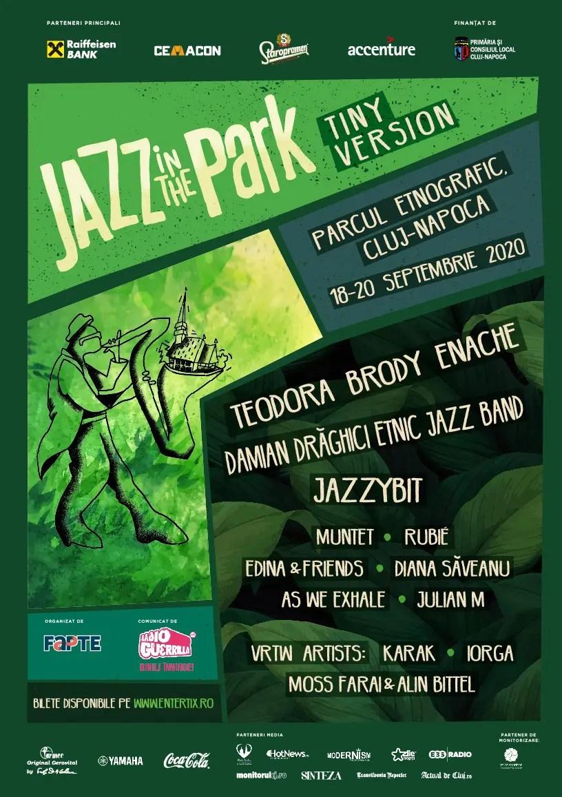 Festivalul Jazz in the Park revine cu o ediție de toamnă