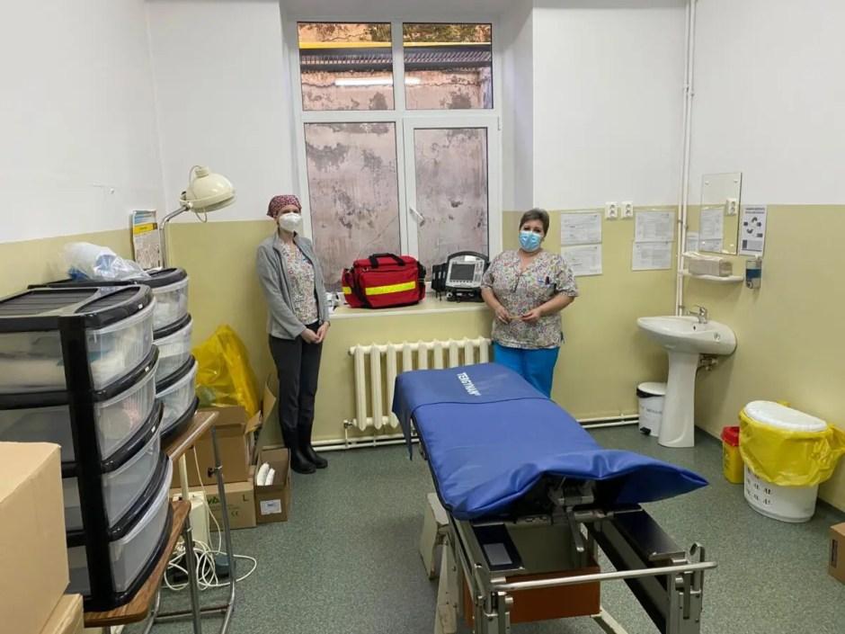 COVID-19 | Capacitatea de vaccinare de la Spitalul Judeţean de Urgență Cluj s-a dublat