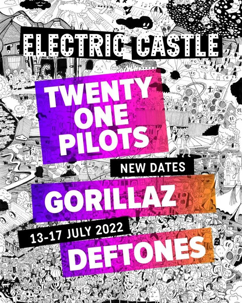 Festivalul Electric Castle se amână pentru anul 2022