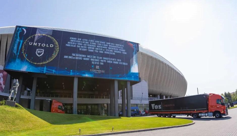 Au început lucrările la festivalul UNTOLD 2021