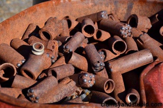 Used drill bits