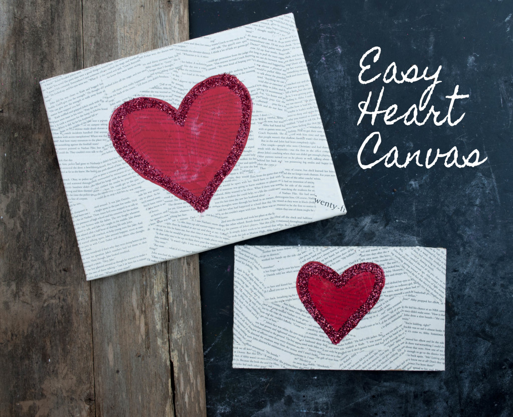 Easy Valentine S Day Canvas Ideas Novocom Top
