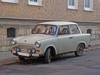 Old, East German Trabbi