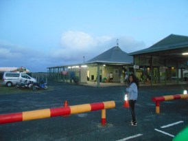 The airport on Aitutaki is smaller than your local Carrefour Market