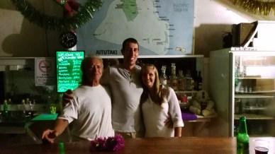 The American couple we met on Aitutaki, great peeps