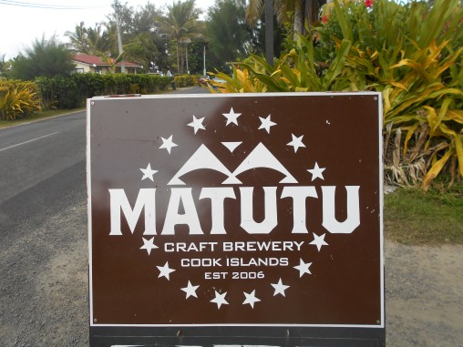 Matutu means strength in Maori, but the meaning wasn't meant to represent the taste, rather the strength of the people to stay and make a life for themselves, to thrive on Raro.