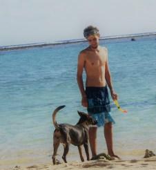 Beach doggo