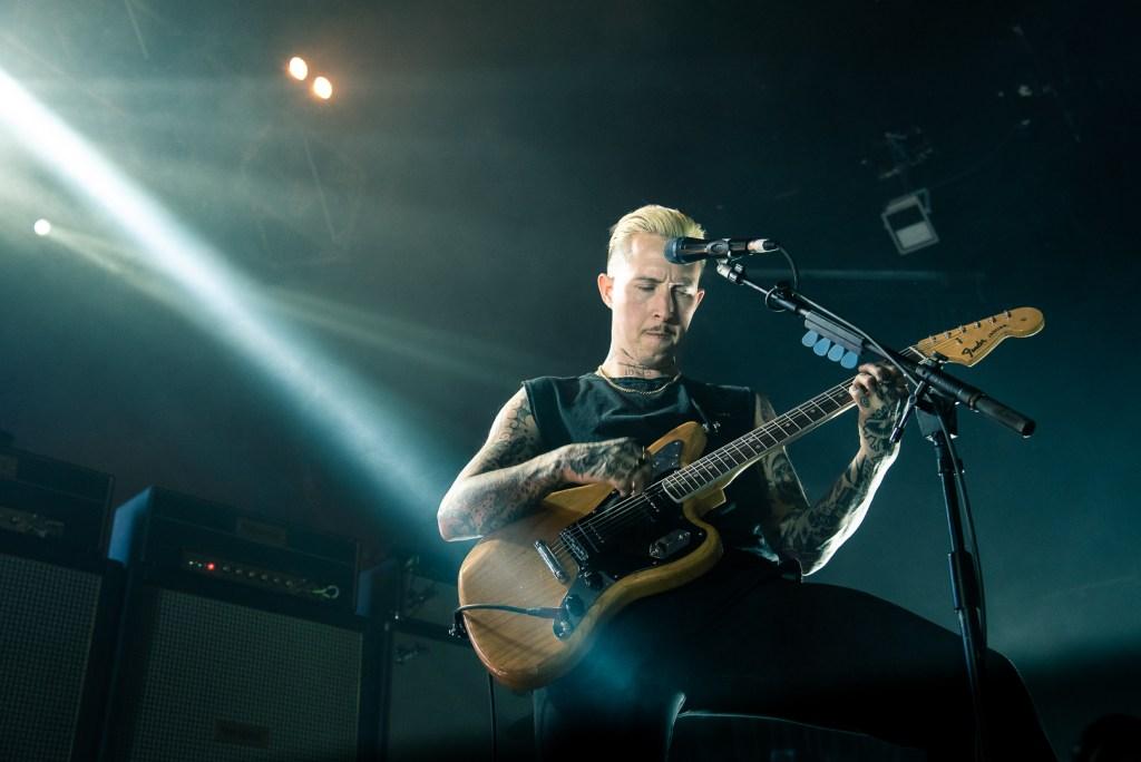 Slaves Fender Punk Bristol Guitar