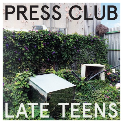 Press Club Album Cover