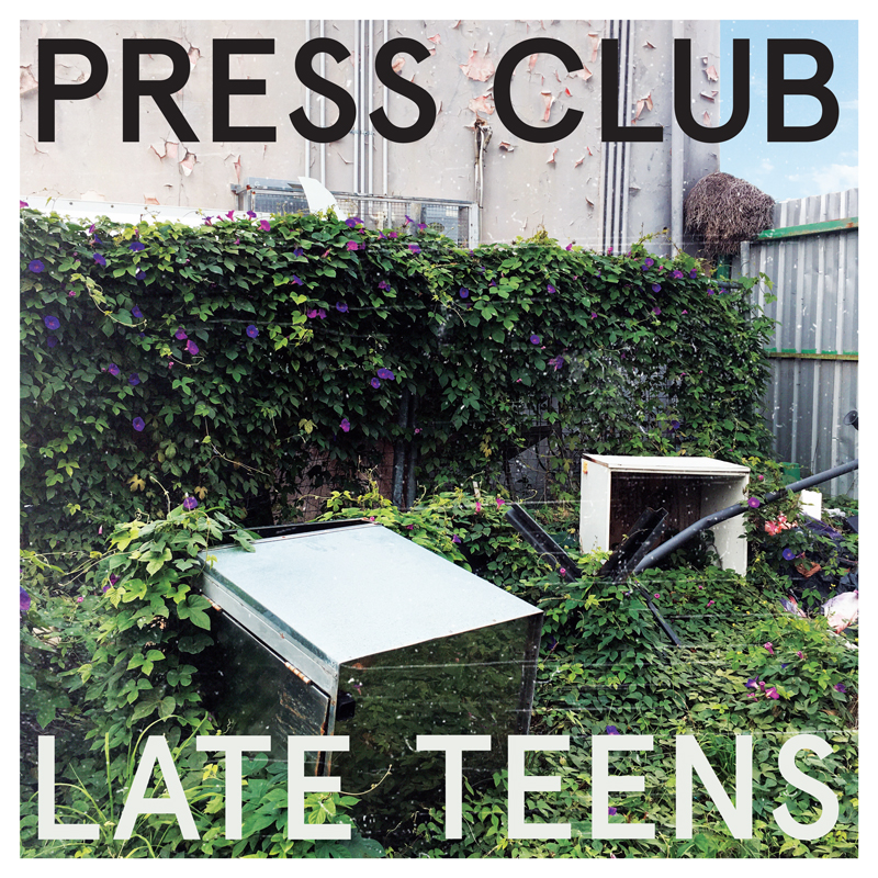 Press Club Album Cover