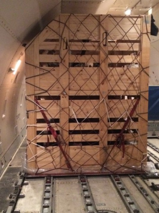 Animal Crates on Board