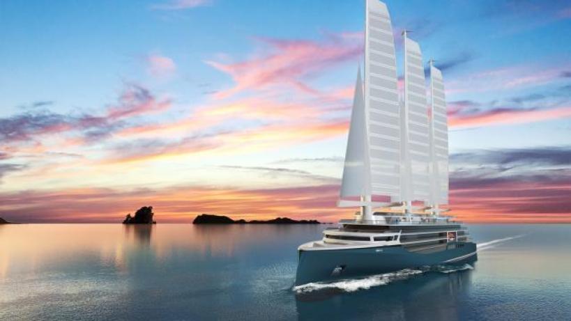 Silenseas the sailing ship of the future