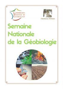 Semaine Nationale de la Géobiologie