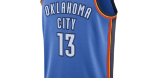 俄克拉荷馬城雷霆隊(Paul George) Icon Edition Swingman Jersey
