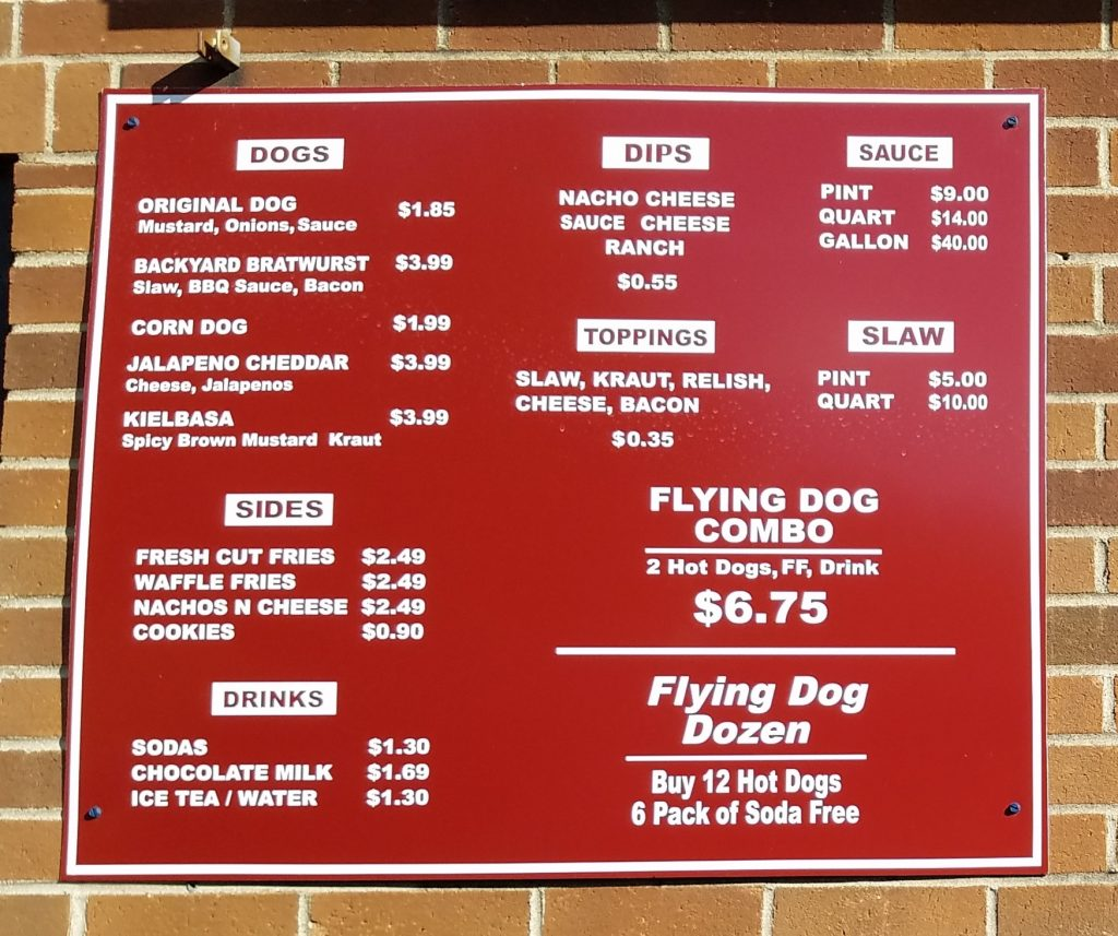 Flying Dogs Hot Dogs