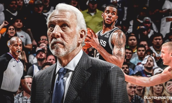 Gregg Popovich Explains Why LaMarcus Aldridge Moved His Game Back To The 3-Point Line