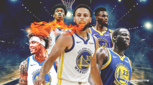 Warriors, Stephen Curry, Draymond Green, Andrew Wiggins, James Wiseman, Kelly Oubre, Klay Thompson