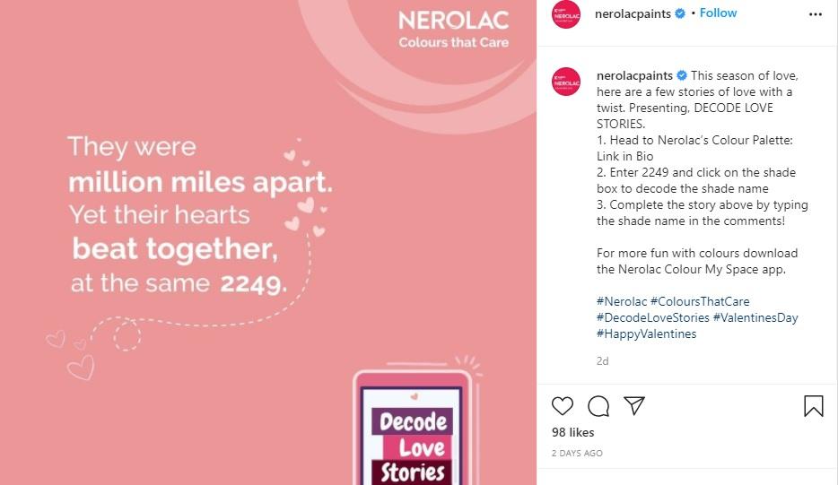 Kansai Nerolac   Decode Love Stories