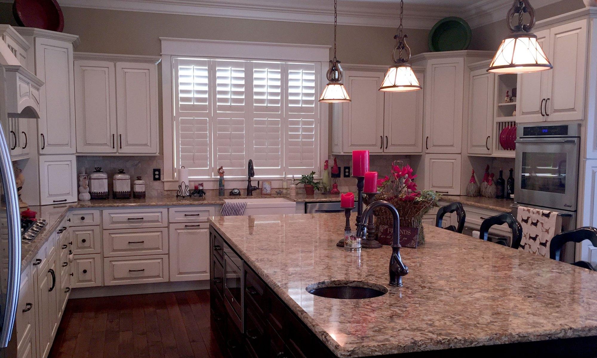 Decluttered kitchen