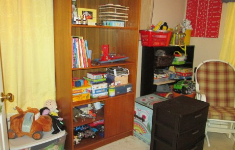 Child's bedroom, professionally decluttered and organized!