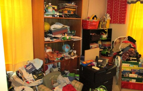 Child's bedroom, to be professionally decluttered and organized!