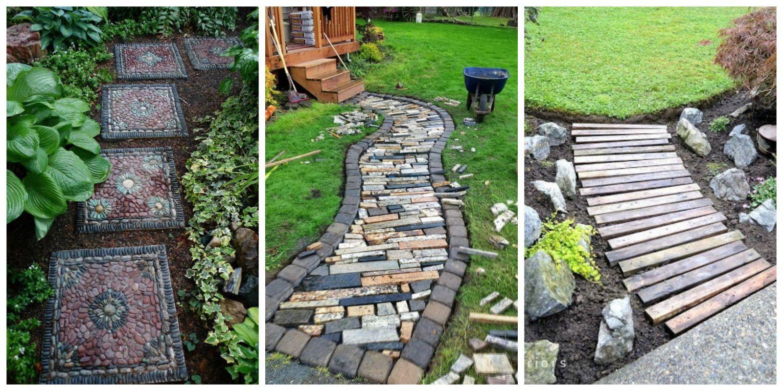 10 Diy Garden Path Ideas