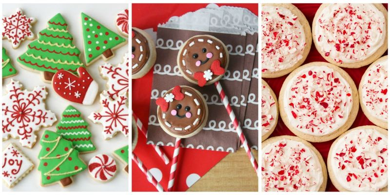 sugar cookie decorating ideas for christmas elitflat