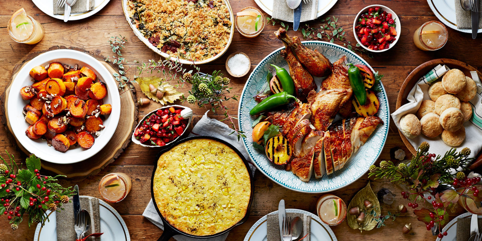 Pinterest Thanksgiving Menu