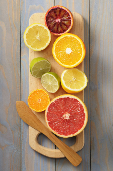 "Orange, grapefruit, and lemon are all energizing and uplifting scents,"" says Cynthia LaBonte, aromatherapist and herbalist at Newport Aromatherapy. ""We associate citrus with cleanliness. Their top notes go straight up the sinuses to the head and make us feel better, fitter, and even more confident and in control."""