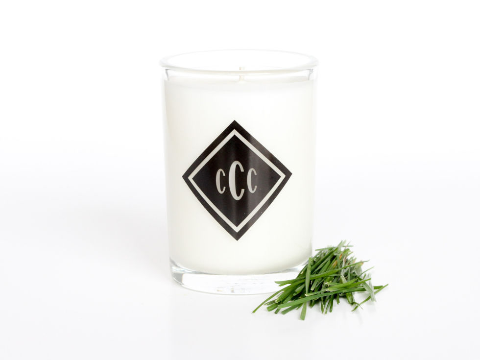 You wouldn't think this scent was something you could bottle, but of course someone had to try. Light this simple beauty on the gray days of winter as a reminder that spring will soon come again. $20, chandlercandle.com