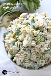 This recipe takes the world's best appetizer and turns it into a pasta salad dish. Genius! Get the recipe at Cook Crave Inspire.