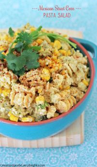 Loaded with tangy lime flavor and sweet corn, this fresh twist on Mexican street corn is going to be the highlight of your summer. Get the recipe at Cinnamon Spice & Everything Nice.