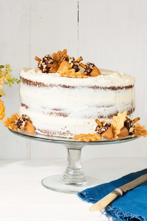 Serve this gorgeous spice cake for a festive, fall dessert. Get the recipe.